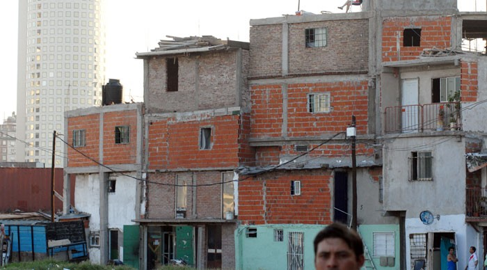 A very small portion of The HIdden City.  It-s estimated that 30,000 people live in the ghetto of Buenos Aires