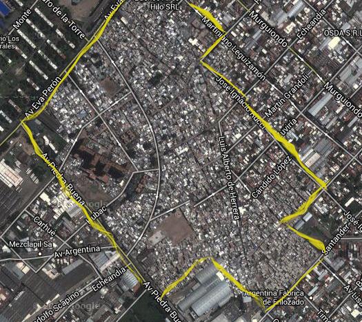 Leguizamón Martinianus 2974 Buenos Aires Argentina - Google Maps Aerial 1